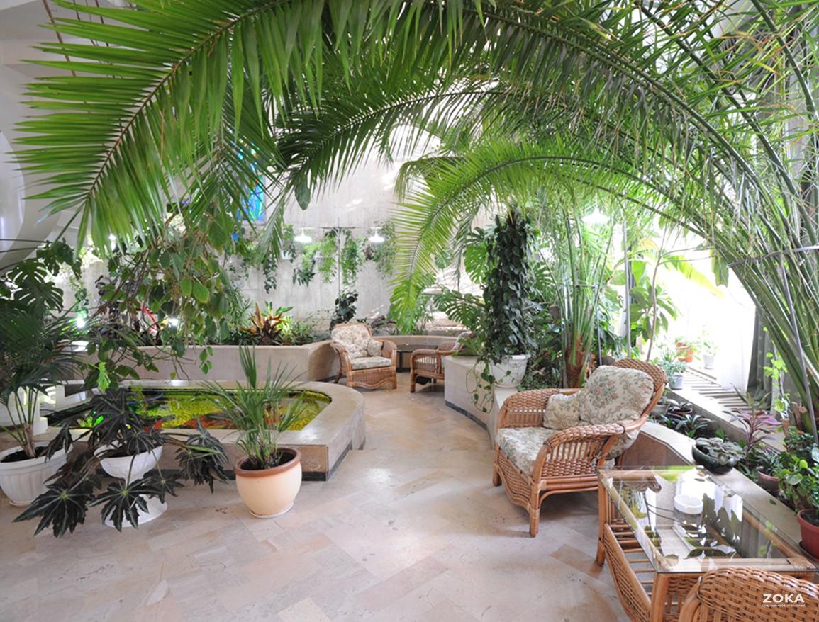 Конвекторы отопления в зимних садах и теплицах